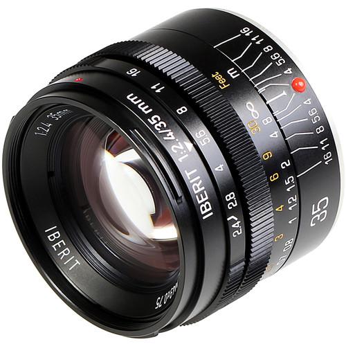Handevision IBERIT 35mm f/2.4 Lens for Fujifilm X (Black)