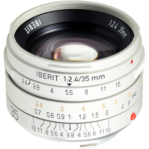 Handevision IBERIT 35mm f/2.4 Lens for Leica M (Silver)