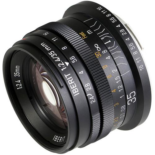 Handevision IBERIT 35mm f/2.4 Lens for Leica L (Black)