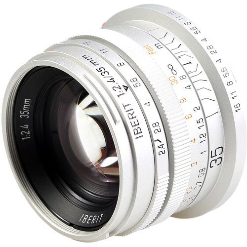 Handevision IBERIT 35mm f/2.4 Lens for Leica L (Silver)