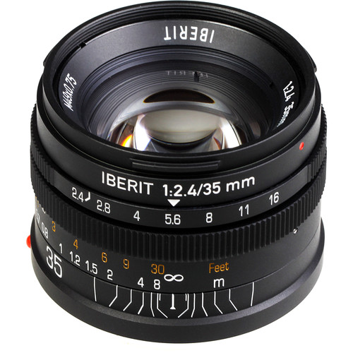 Handevision IBERIT 35mm f/2.4 Lens for Sony E (Black)