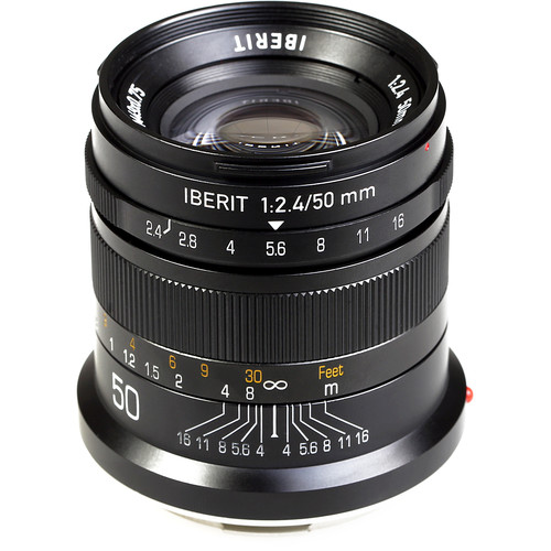 Handevision IBERIT 50mm f/2.4 Lens for Leica L (Black)
