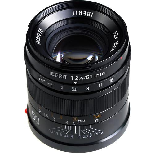 Handevision IBERIT 50mm f/2.4 Lens for Sony E (Black)
