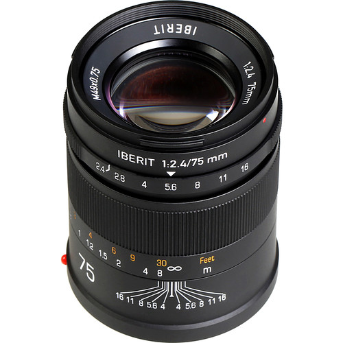Handevision IBERIT 75mm f/2.4 Lens for Sony E (Black)
