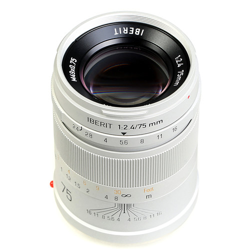 Handevision IBERIT 75mm f/2.4 Lens for Sony E (Silver)