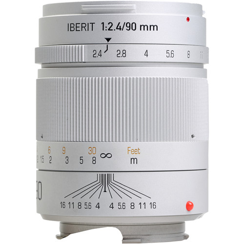 Handevision IBERIT 90mm f/2.4 Lens for Leica M (Silver)