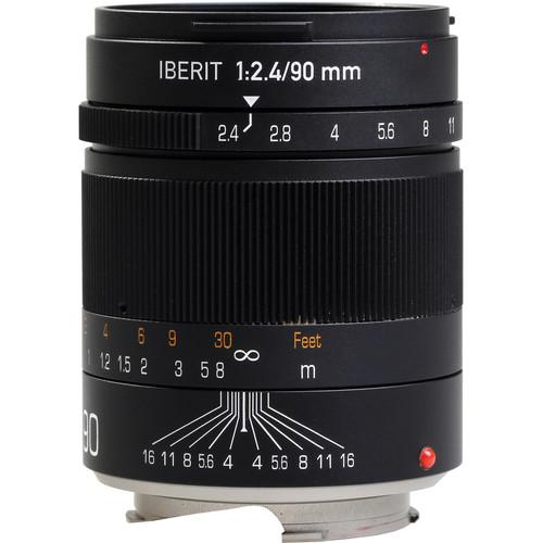 Handevision IBERIT 90mm f/2.4 Lens for Leica M (Black)