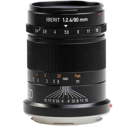 Handevision IBERIT 90mm f/2.4 Lens for Leica L (Black)