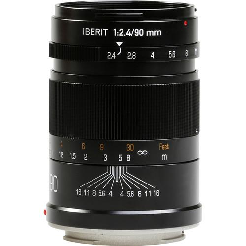 Handevision IBERIT 90mm f/2.4 Lens for Sony E (Black)