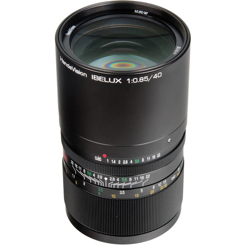 Handevision IBELUX 40mm f/0.85 Lens for Micro Four Thirds Mount