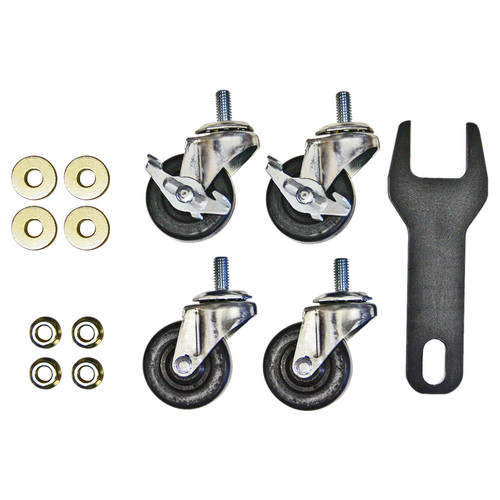 "Hannay Reels 99490073 2"" Caster Kit for AV1, AV3, AVD1, & AVD3"