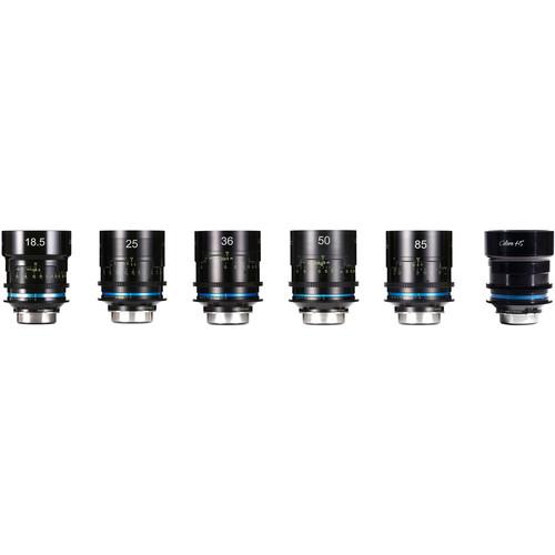 HANSE INNO TECH Celere HS 6-Lens Cine Lens Bundle (EF Mount, Meters, Uncoated)
