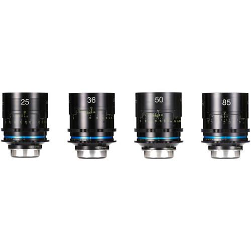 HANSE INNO TECH Celere HS 4-Lens Cine Lens Bundle (PL Mount, Meters, Uncoated)