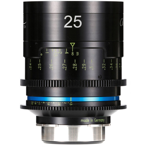 HANSE INNO TECH Celere HS 25mm Cine Lens (PL Mount, Feet, Uncoated)