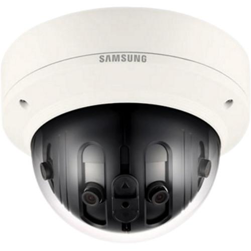 Hanwha Techwin WiseNet P Series PNM-9020V 7.3MP Multi-Sensor Panoramic Outdoor Network Dome Camera with Heater
