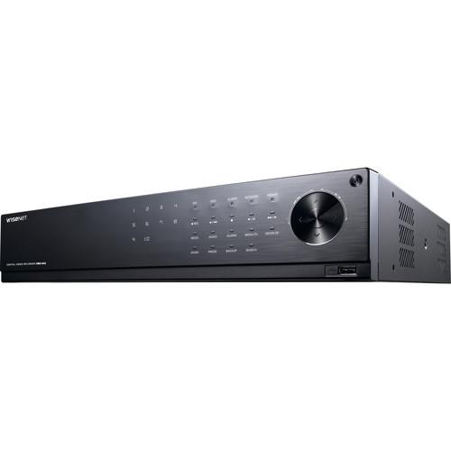 Hanwha Techwin WiseNet HD+ HRD-842 8-Channel 4MP AHD DVR with 24TB HDD
