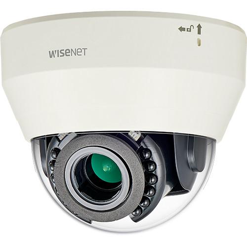 Hanwha Techwin 2 Megapixel L series Indoor IR Dome Camera (3.2-10mm Lens)