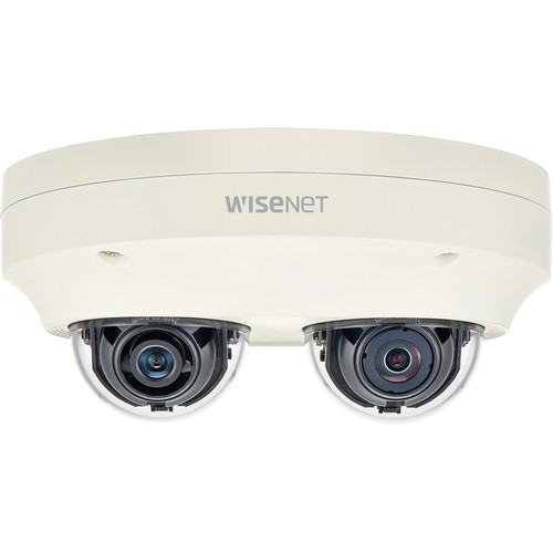 Hanwha Techwin WiseNet P Series PNM-7000VD Outdoor Network Dual Dome Camera (No Sensor)