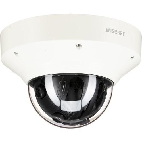 Hanwha Techwin WiseNet P Series PNM-9030V 15MP Outdoor Network Quad Dome Camera
