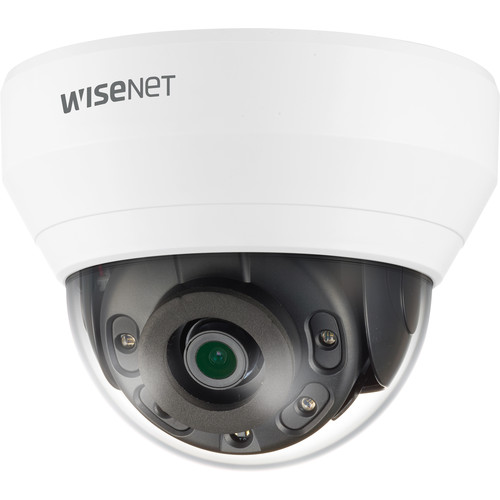 Hanwha Techwin QND-6012R 2MP Network Dome Camera with Night Vision & 2.8mm Lens
