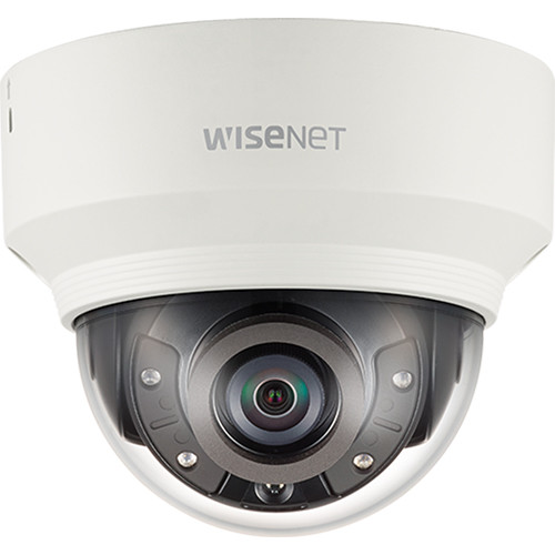 Hanwha Techwin WiseNet X Series 2MP Outdoor Network Dome Camera with 2.8-12mm Varifocal Lens and Night Vision (Plastic)
