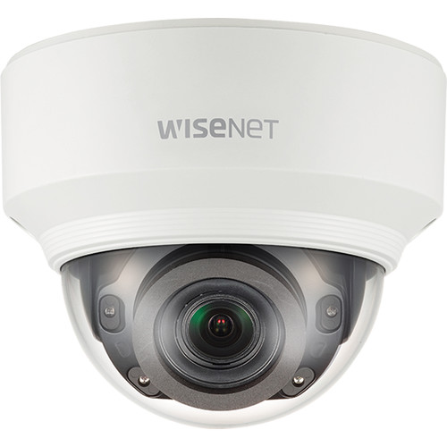 Hanwha Techwin WiseNet X Series 2MP Outdoor Network Dome Camera with 2.8-12mm Varifocal Lens and Night Vision (Aluminum)