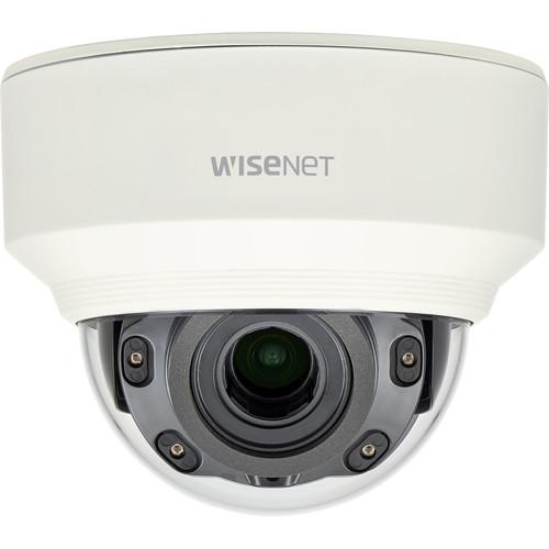 Hanwha Techwin 2MP Indoor IR Vandal Dome Camera with 3.2-10mm Motorized Vari-Focal Lens