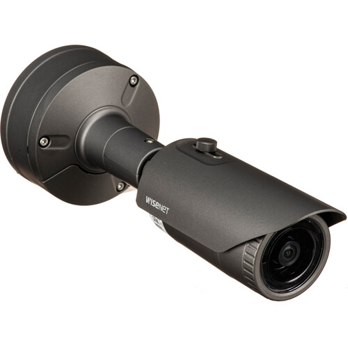 Hanwha Techwin WiseNet X Series 5MP Outdoor Network Bullet Camera with 3.7mm Lens and Night Vision