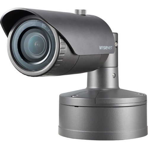 Hanwha Techwin WiseNet X Series 5MP Outdoor Network Bullet Camera with 4.6mm Lens and Night Vision