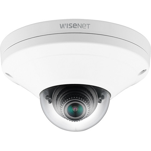 Hanwha Techwin X Series 2MP Outdoor Network Compact Vandal Dome Camera (White)