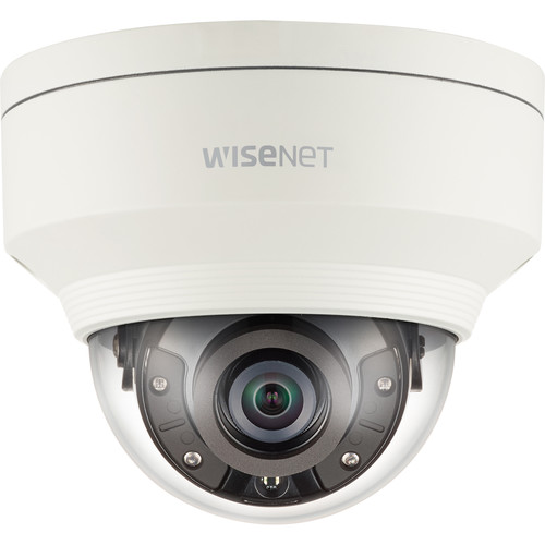 Hanwha Techwin WiseNet X Series 2MP Vandal-Resistant Outdoor Network Dome Camera with Night Vision