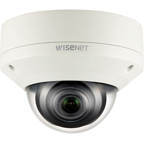 Hanwha Techwin WiseNet X Series 2MP Vandal-Resistant Outdoor Network Dome Camera with 2.8-12mm Lens