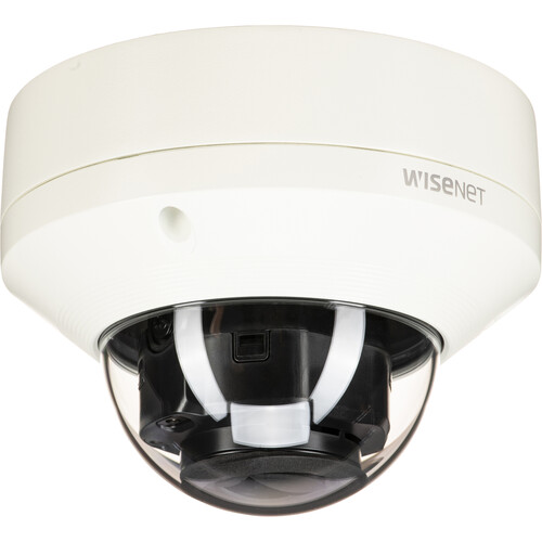 Hanwha Techwin WiseNet X Series 2MP Vandal-Resistant Outdoor Network Dome Camera with 2.8-12mm Motorized Lens & Night Vision