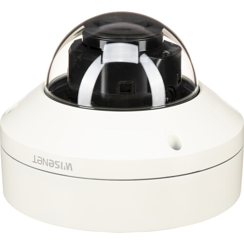Hanwha Techwin WiseNet X Series XNV-8080R 5MP Outdoor Network Dome Camera with Night Vision (Aluminum)
