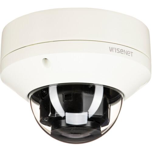 Hanwha Techwin 2MP IR Outdoor Vandal Dome Camera with 3.2-10mm Motorized Vari-Focal Lens