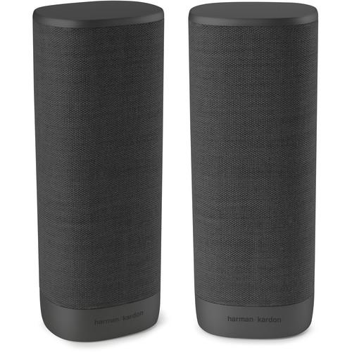 Harman Kardon Citation Surround Wireless Speakers (Black, Pair)