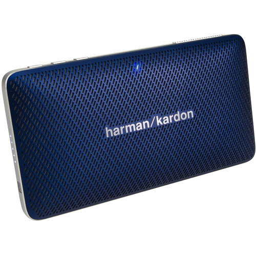 Harman Kardon Esquire Mini Portable Wireless Speaker and Conferencing System (Blue)