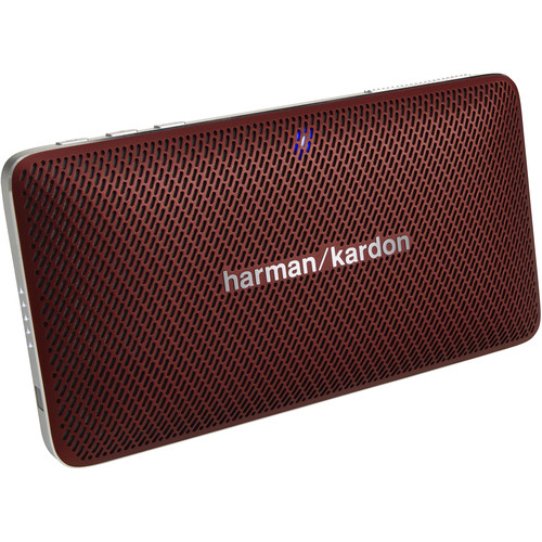 Harman Kardon Esquire Mini Portable Wireless Speaker and Conferencing System (Red)
