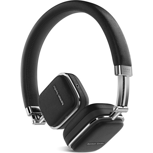 Harman Kardon Soho Bluetooth On-Ear Headphones (Black)