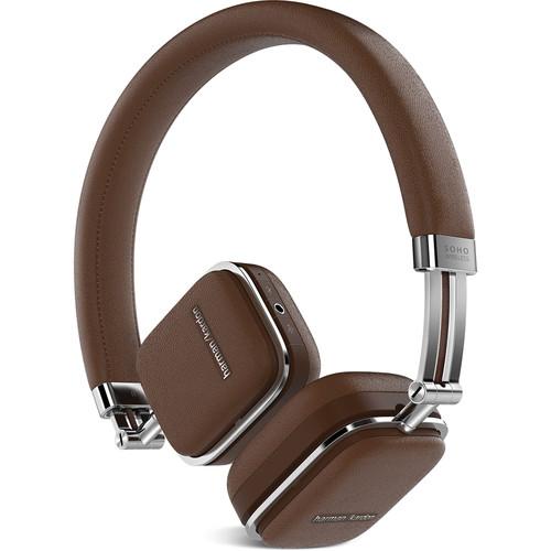 Harman Kardon Soho Bluetooth On-Ear Headphones (Brown)