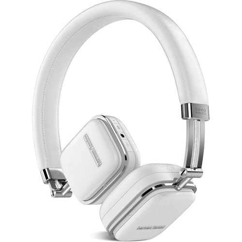 Harman Kardon Soho Bluetooth On-Ear Headphones (White)