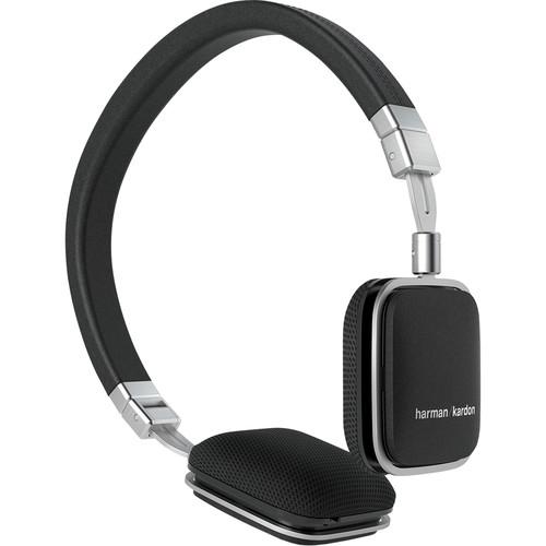 Harman Kardon Soho Lie-Flat On-Ear Mini iOS Headphones (Black)