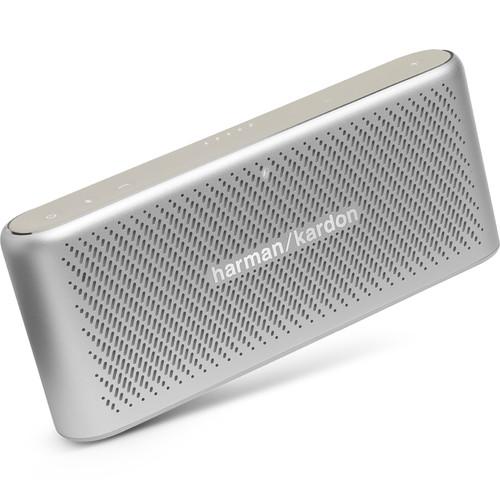 Harman Kardon Traveler Portable Wireless Speaker (Silver)