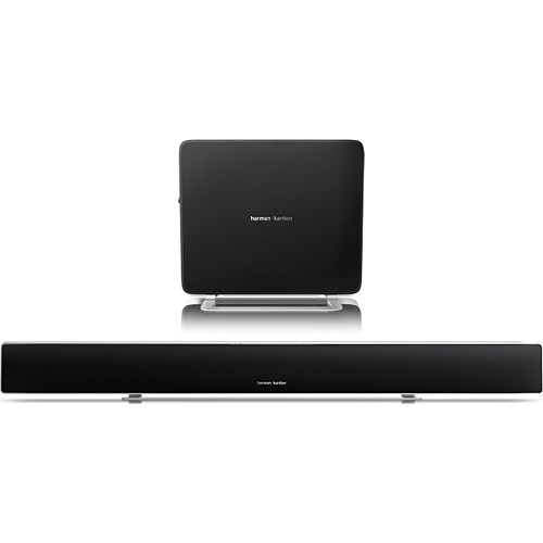 Harman Kardon SABRE SB35 Ultra-Slim Wireless Home Theater System with Soundbar & Compact Subwoofer