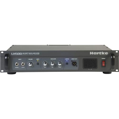 Hartke LH500 Bass Amplifier (500W, 2RU)
