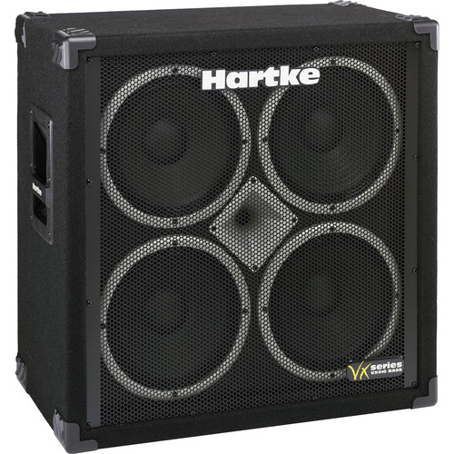 "Hartke VX410 4x10"" Bass Cabinet with 1"" High-Frequency Speaker"