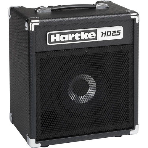 "Hartke HD25 25W 1x8"" Combo Amplifier for Electric Bass"