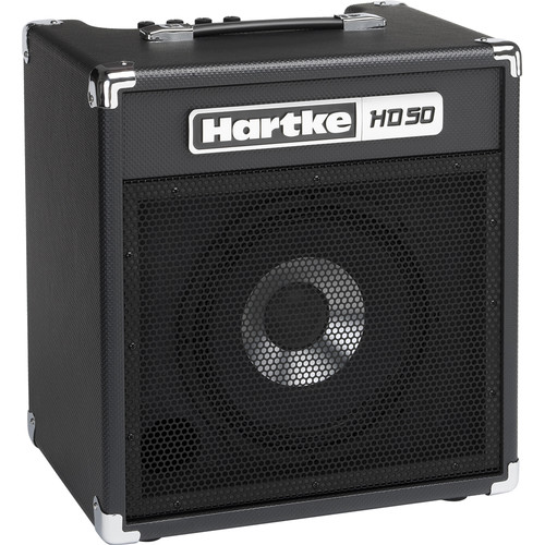 "Hartke HD50 50W 1x10"" Combo Amplifier for Electric Bass"