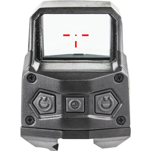 Hartman 1x MH1 Reflex Sight with 2 MOA Red Dot Reticle (Dual Lever, Black)