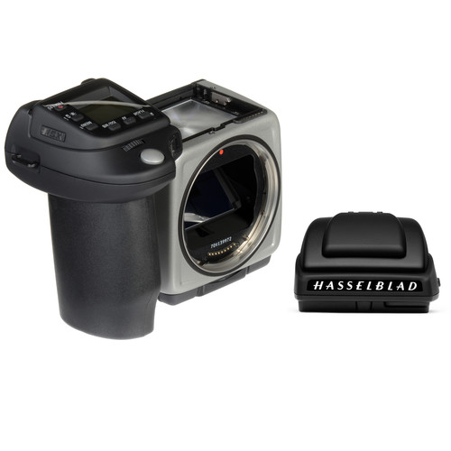 Hasselblad H5X Medium Format DSLR Camera Body with Battery Grip and HV 90x-II Viewfinder